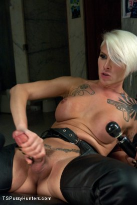 Photo number 11 from Her BIGGEST Fan: Stalking, Bathroom Fucking, Glory Holes and Cum Shots shot for TS Pussy Hunters on Kink.com. Featuring Danni Daniels and Daisy Ducati in hardcore BDSM & Fetish porn.