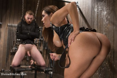 Photo number 2 from You smell like a bitch and not the good kind. shot for Divine Bitches on Kink.com. Featuring Francesca Le and Sebastian Keys in hardcore BDSM & Fetish porn.