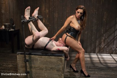 Photo number 4 from You smell like a bitch and not the good kind. shot for Divine Bitches on Kink.com. Featuring Francesca Le  and Sebastian Keys in hardcore BDSM & Fetish porn.