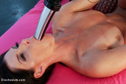 Photo number 14 from India Summer Electro-Fisted and Samurai-Fucked! shot for Electro Sluts on Kink.com. Featuring India Summer and Lea Lexis in hardcore BDSM & Fetish porn.