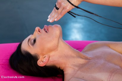 Photo number 2 from India Summer Electro-Fisted and Samurai-Fucked! shot for Electro Sluts on Kink.com. Featuring India Summer and Lea Lexis in hardcore BDSM & Fetish porn.