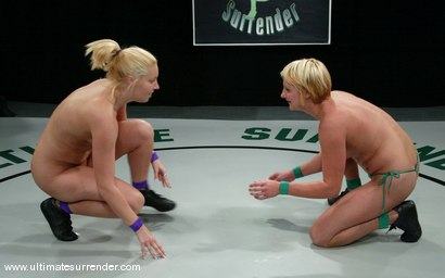 Photo number 3 from The Amazon vs. Vendetta shot for Ultimate Surrender on Kink.com. Featuring Hollie Stevens and Vendetta in hardcore BDSM & Fetish porn.