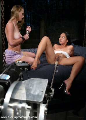 Photo number 2 from Loni and Phoenix shot for Fucking Machines on Kink.com. Featuring Loni and Phoenix in hardcore BDSM & Fetish porn.