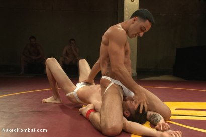 "Photo number 3 from Andrew ""The Fighter"" Fitch vs Casey ""The Mangler"" More shot for Naked Kombat on Kink.com. Featuring Andrew Fitch and Casey More in hardcore BDSM & Fetish porn."