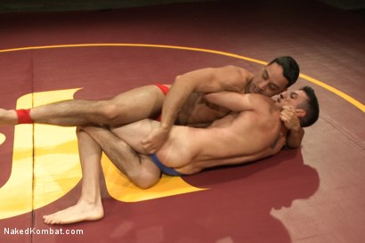 "Photo number 2 from Andrew ""The Fighter"" Fitch vs Casey ""The Mangler"" More shot for Naked Kombat on Kink.com. Featuring Andrew Fitch and Casey More in hardcore BDSM & Fetish porn."