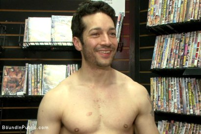Photo number 15 from Hot sex shop thief fucked in the back arcade shot for Bound in Public on Kink.com. Featuring Silas O'Hara, Andrew Fitch and Jay Cloud in hardcore BDSM & Fetish porn.
