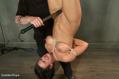 Photo number 8 from Hot MILF, Tight Bondage, Mind Blowing Orgasms!! shot for Sadistic Rope on Kink.com. Featuring Penny Barber in hardcore BDSM & Fetish porn.