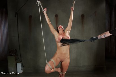 Photo number 2 from Debasing Ariel X shot for Sadistic Rope on Kink.com. Featuring Ariel X in hardcore BDSM & Fetish porn.