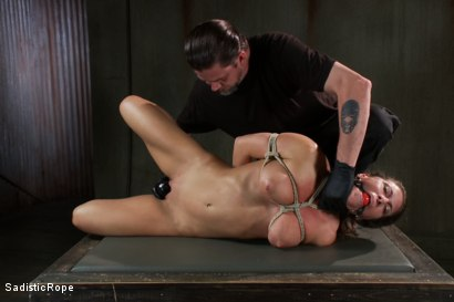 Photo number 10 from Debasing Ariel X shot for Sadistic Rope on Kink.com. Featuring Ariel X in hardcore BDSM & Fetish porn.