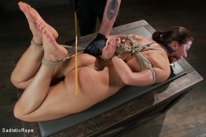 Photo number 12 from Debasing Ariel X shot for Sadistic Rope on Kink.com. Featuring Ariel X in hardcore BDSM & Fetish porn.