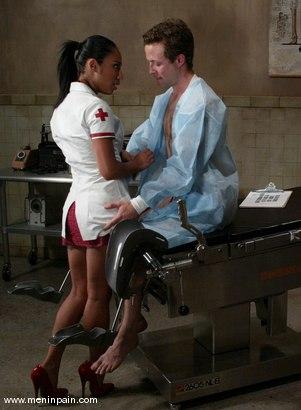 Photo number 1 from Elliot Skellington, Jasmine Byrne and James shot for Men In Pain on Kink.com. Featuring Elliot Skellington, Jasmine Byrne and James in hardcore BDSM & Fetish porn.