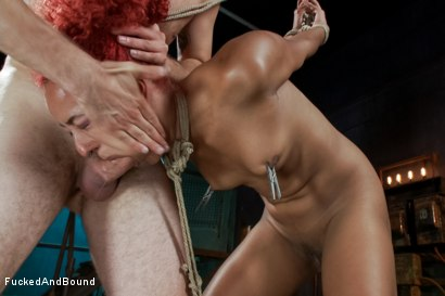 Photo number 12 from Hot Newbie is Brutally Fucked shot for Brutal Sessions on Kink.com. Featuring Daisy Ducati and Maestro in hardcore BDSM & Fetish porn.