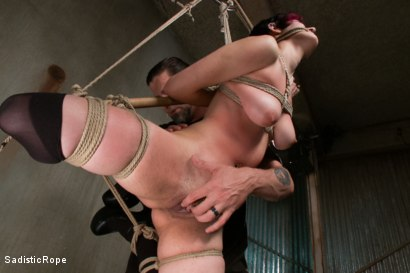 Photo number 14 from Closest to the Edge shot for Sadistic Rope on Kink.com. Featuring Iona Grace in hardcore BDSM & Fetish porn.