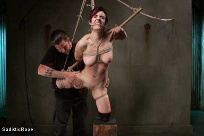 Photo number 7 from Closest to the Edge shot for Sadistic Rope on Kink.com. Featuring Iona Grace in hardcore BDSM & Fetish porn.
