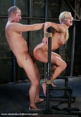 Photo number 10 from Barbara Summer and Chris Charming shot for Sex And Submission on Kink.com. Featuring Barbara Summer and Chris Charming in hardcore BDSM & Fetish porn.