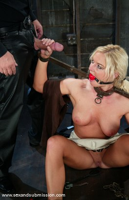 Photo number 3 from Barbara Summer and Chris Charming shot for Sex And Submission on Kink.com. Featuring Barbara Summer and Chris Charming in hardcore BDSM & Fetish porn.