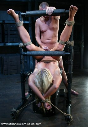 Photo number 14 from Barbara Summer and Chris Charming shot for Sex And Submission on Kink.com. Featuring Barbara Summer and Chris Charming in hardcore BDSM & Fetish porn.