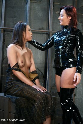 Photo number 1 from Veronica Lynn and Sandra Romain shot for Whipped Ass on Kink.com. Featuring Veronica Lynn and Sandra Romain in hardcore BDSM & Fetish porn.