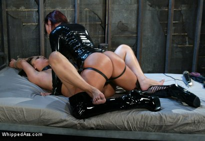 Photo number 14 from Veronica Lynn and Sandra Romain shot for Whipped Ass on Kink.com. Featuring Veronica Lynn and Sandra Romain in hardcore BDSM & Fetish porn.
