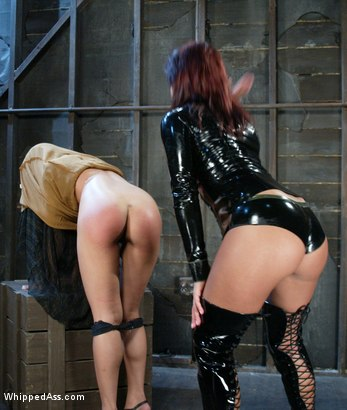 Photo number 5 from Veronica Lynn and Sandra Romain shot for Whipped Ass on Kink.com. Featuring Veronica Lynn and Sandra Romain in hardcore BDSM & Fetish porn.