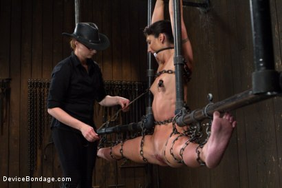 Photo number 11 from Claire Adams vs Rough Rider Wenona shot for devicebondage on Kink.com. Featuring Wenona in hardcore BDSM & Fetish porn.