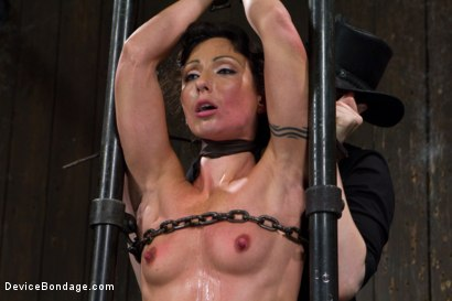 Photo number 13 from Claire Adams vs Rough Rider Wenona shot for Device Bondage on Kink.com. Featuring Wenona in hardcore BDSM & Fetish porn.