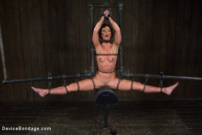 Photo number 15 from Claire Adams vs Rough Rider Wenona shot for Device Bondage on Kink.com. Featuring Wenona in hardcore BDSM & Fetish porn.