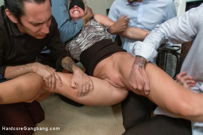 Gang bang swingers