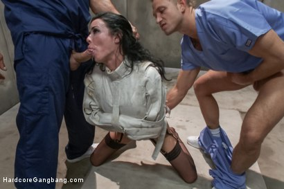 Photo number 5 from Veronica Avluv - SEX ADDICT shot for Hardcore Gangbang on Kink.com. Featuring Veronica Avluv, John Strong, Toni Ribas, Karlo Karrera, Astral Dust and Bill Bailey in hardcore BDSM & Fetish porn.