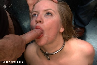 Photo number 12 from Adorable Blonde is Made to Serve Cock and Customers at Dive Bar shot for Public Disgrace on Kink.com. Featuring Tommy Pistol and Alani Pi in hardcore BDSM & Fetish porn.