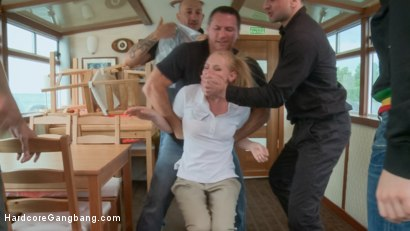 Photo number 1 from Petite Russian Tour Guide Stuffed Airtight shot for Hardcore Gangbang on Kink.com. Featuring Lolita Taylor, Steve Holmes, Omar Galanti, Markus Dupree, John Strong and Andreas in hardcore BDSM & Fetish porn.