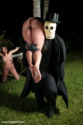 Photo number 5 from CABO<br>DAY OF THE DEAD part 3<BR>A fantasy. shot for Hogtied on Kink.com. Featuring Christina Carter, Dana DeArmond, Lola, Dee Williams and Lew Rubens in hardcore BDSM & Fetish porn.