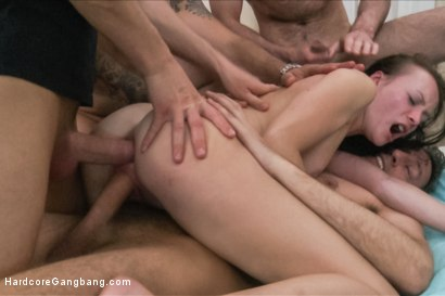 Photo number 13 from Petite Russian Lawyer has her Rough Gangbang Fantasy Fulfilled shot for Hardcore Gangbang on Kink.com. Featuring Polly Sunshine, Andreas, John Strong, Markus Dupree, Omar Galanti and Steve Holmes in hardcore BDSM & Fetish porn.