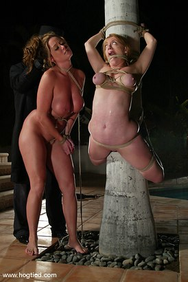 Photo number 7 from CABO<br>DAY OF THE DEAD part 4<BR>A fantasy. shot for Hogtied on Kink.com. Featuring Dee Williams, Dana DeArmond, Lola, Christina Carter and Lew Rubens in hardcore BDSM & Fetish porn.