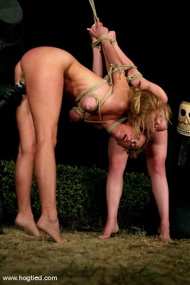 Photo number 14 from CABO<br>DAY OF THE DEAD part 5<BR>A fantasy. shot for Hogtied on Kink.com. Featuring Christina Carter, Dana DeArmond, Lola, Dee Williams and Lew Rubens in hardcore BDSM & Fetish porn.