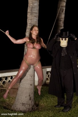 Photo number 9 from CABO<br>DAY OF THE DEAD part 6<BR>A fantasy. shot for Hogtied on Kink.com. Featuring Dee Williams, Dana DeArmond, Lola, Christina Carter and Lew Rubens in hardcore BDSM & Fetish porn.