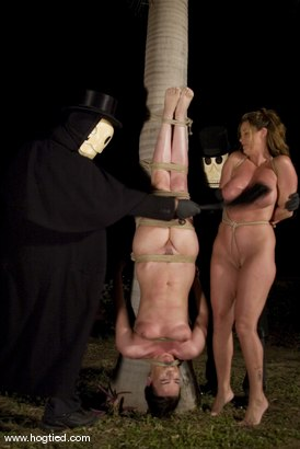 Photo number 6 from CABO   DAY OF THE DEAD part 6   A fantasy. shot for Hogtied on Kink.com. Featuring Dee Williams, Dana DeArmond, Lola, Christina Carter and Lew Rubens in hardcore BDSM & Fetish porn.