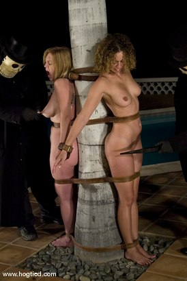Photo number 8 from CABO<br>DAY OF THE DEAD part 6<BR>A fantasy. shot for Hogtied on Kink.com. Featuring Dee Williams, Dana DeArmond, Lola, Christina Carter and Lew Rubens in hardcore BDSM & Fetish porn.