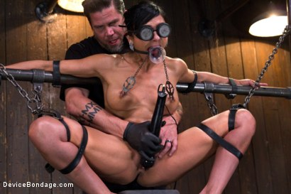 Photo number 13 from The Pope vs Beretta James shot for Device Bondage on Kink.com. Featuring Beretta James in hardcore BDSM & Fetish porn.