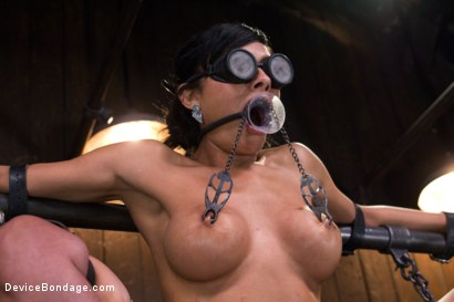 Photo number 11 from The Pope vs Beretta James shot for Device Bondage on Kink.com. Featuring Beretta James in hardcore BDSM & Fetish porn.