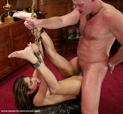 Photo number 13 from Mark Davis and Sahara Knite shot for Sex And Submission on Kink.com. Featuring Sahara Knite and Mark Davis in hardcore BDSM & Fetish porn.