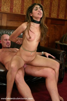 Photo number 10 from Mark Davis and Sahara Knite shot for Sex And Submission on Kink.com. Featuring Sahara Knite and Mark Davis in hardcore BDSM & Fetish porn.