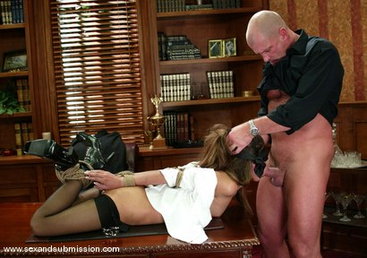 Photo number 4 from Mark Davis and Sahara Knite shot for Sex And Submission on Kink.com. Featuring Sahara Knite and Mark Davis in hardcore BDSM & Fetish porn.