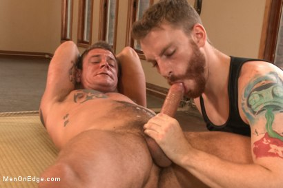Photo number 7 from Veiny hung cock, edged for the first time shot for Men On Edge on Kink.com. Featuring Jace Chambers in hardcore BDSM & Fetish porn.