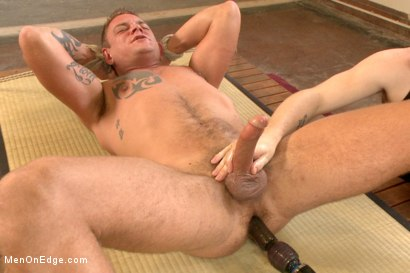 Photo number 10 from Veiny hung cock, edged for the first time shot for Men On Edge on Kink.com. Featuring Jace Chambers in hardcore BDSM & Fetish porn.