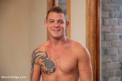 Photo number 15 from Veiny hung cock, edged for the first time shot for Men On Edge on Kink.com. Featuring Jace Chambers in hardcore BDSM & Fetish porn.