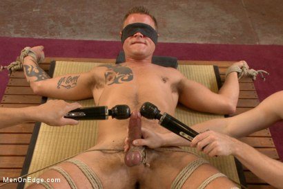 Photo number 6 from Veiny hung cock, edged for the first time shot for Men On Edge on Kink.com. Featuring Jace Chambers in hardcore BDSM & Fetish porn.