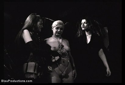 Photo number 4 from Ladies of the Night -Les Vampyres shot for Bleu Films on Kink.com. Featuring  in hardcore BDSM & Fetish porn.
