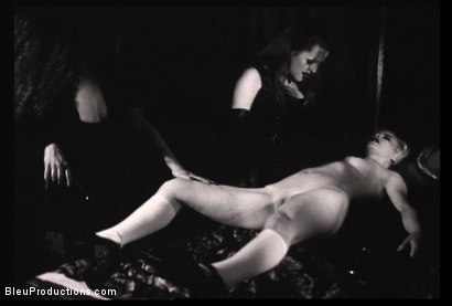 Photo number 6 from Ladies of the Night -Les Vampyres shot for Bleu Films on Kink.com. Featuring  in hardcore BDSM & Fetish porn.