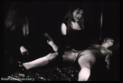 Photo number 7 from Ladies of the Night -Les Vampyres shot for Bleu Films on Kink.com. Featuring  in hardcore BDSM & Fetish porn.